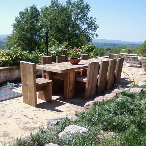 massivholztisch wohnzimmertish altholztisch esszimmertisch wintergarten